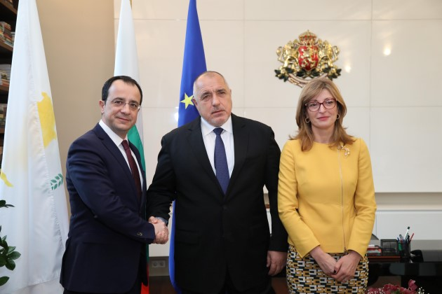 PM Boyko Borissov: Cooperation between Bulgaria and Cyprus is to the benefit of both nations and needs to be deepened