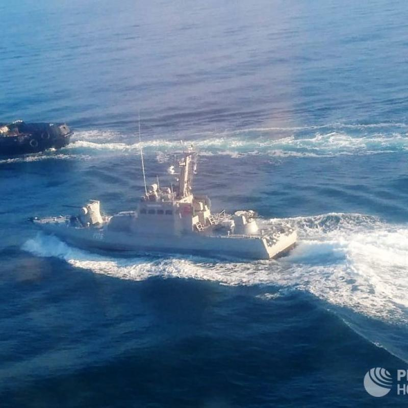 AFP: EU to sanction eight Russians for Azov Sea standoff