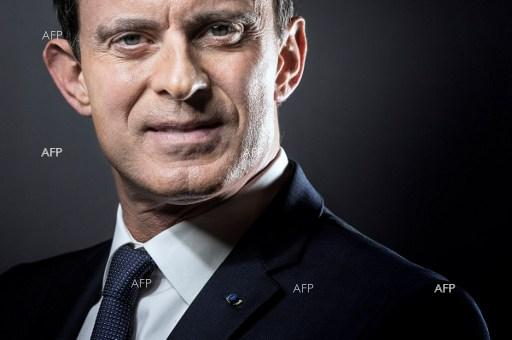 Manuel Valls joined the presidential race in France. December 6, 2016.