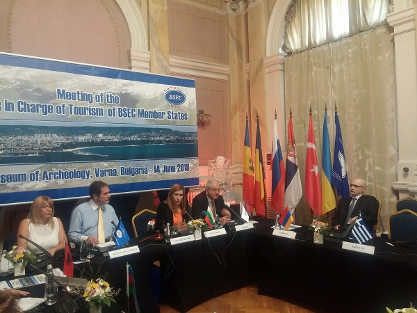 BSEC tourism ministers adopt declaration on Black Sea brand and cruise tourism