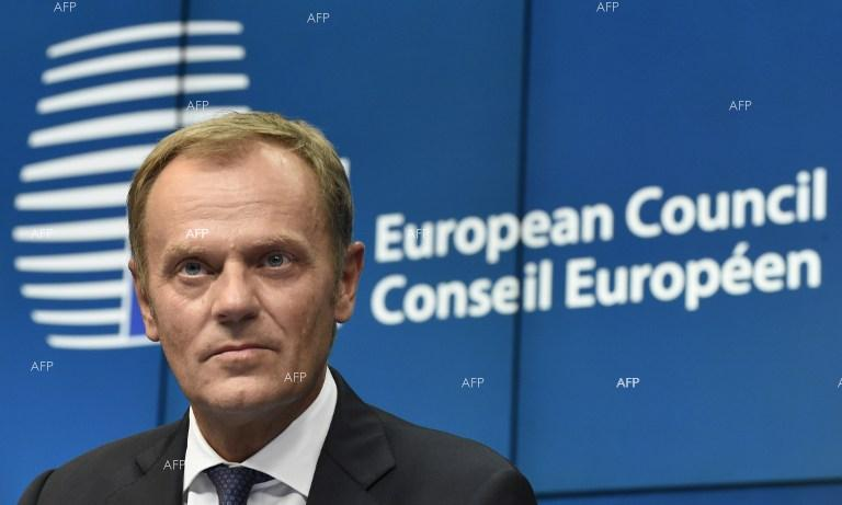 Politico: Donald Tusk 'optimistic' after Theresa May meeting