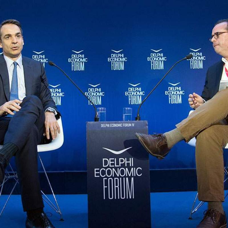 Kathimerini: ND leader calls for ejection of Orban from EEP, takes aim at Tsipras