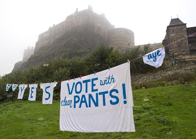 Scotland holds historic independence vote.