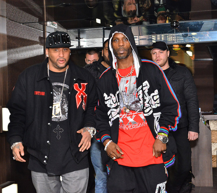 Rapper DMX arrives in Bulgaria