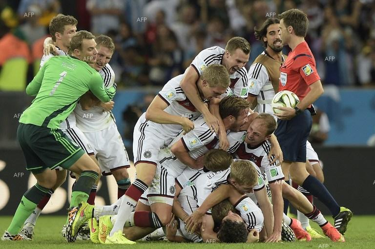 Germany wins FIFA World Cup after defeating Argentina 1:0.