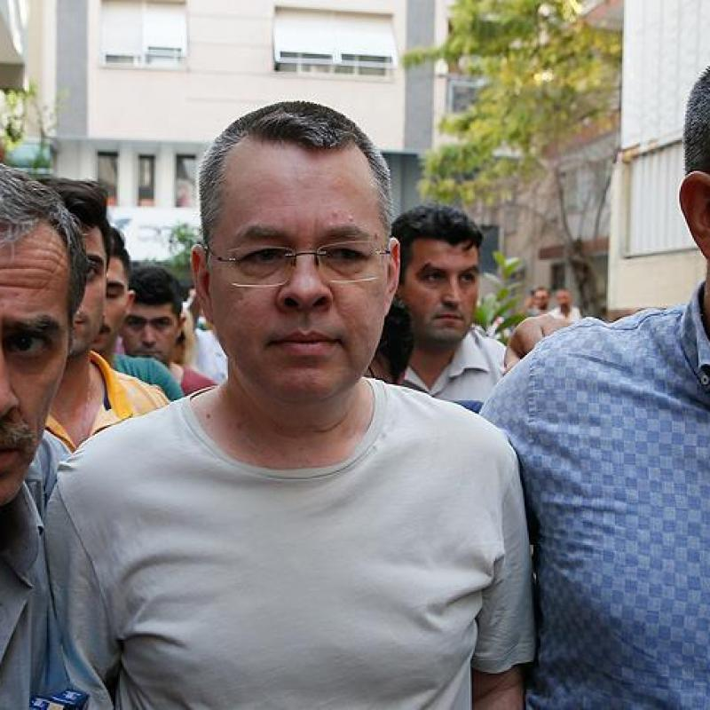 AFP: Turkish prosecutor requests lifting of US pastor's house arrest