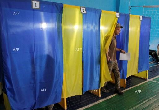 Ukraine votes in snap parliamentary election. July 21, 2019