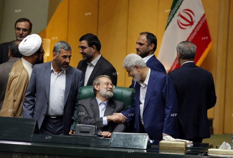 Moderate conservative Ali Larijani reelected Iran speaker