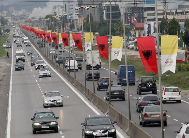 Albania gets ready for Pope Francis visit.