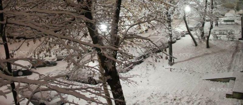 Bulgaria capital Sofia woke up Saturday morning with a fresh snow
