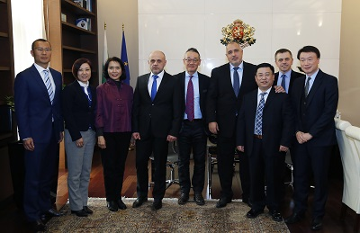 Bulgaria outgoing PM met with representatives of Chinese business