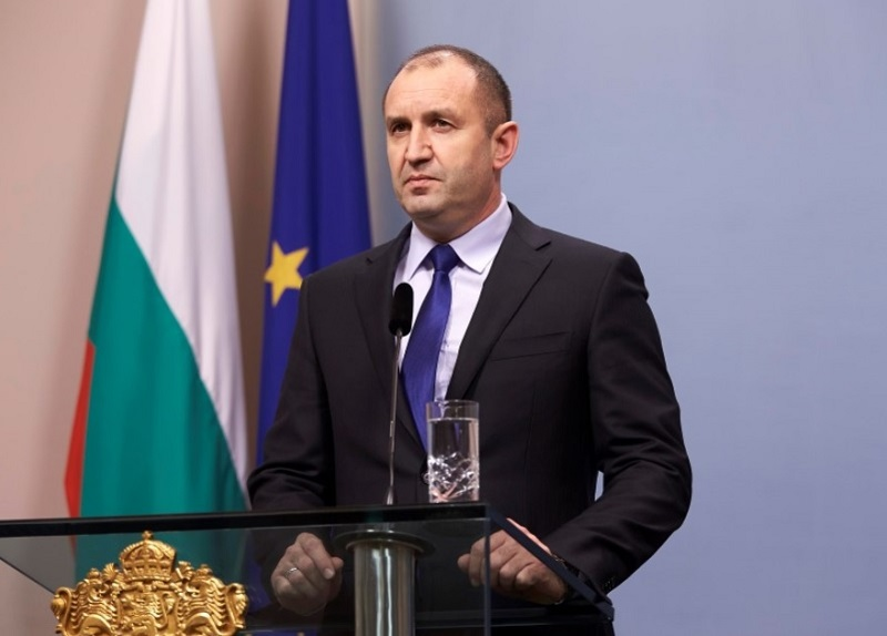 President Rumen Radev: I call for reconsidering the possibility of direct supply of Russian gas across the Black Sea to Bulgaria
