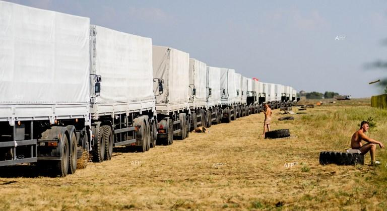Ukraine accuses Russia of 'invasion' as aid trucks move in