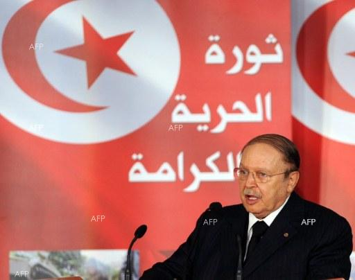 Thousands of Algerians protest against fifth term for Bouteflika, 82