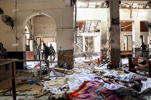 AFP: Trump calls Sri Lanka PM to express condolences over attacks