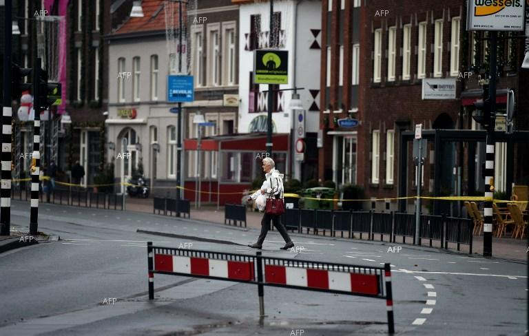 The Netherlands. The centre of Roermond remains closed off over asbestos pollution.