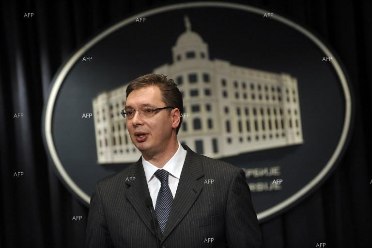 Serbia's ruling party to back PM Vucic for presidential race - interior minister