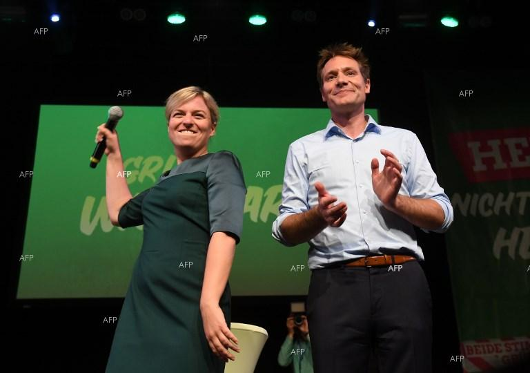 Win for Greens in Bavaria. October 15, 2018;