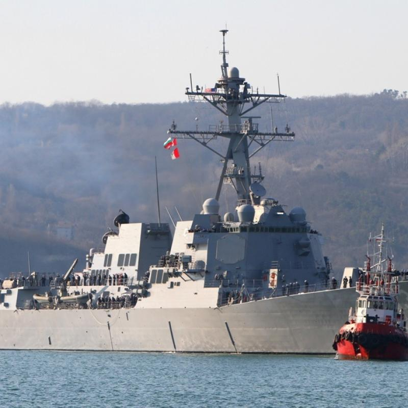 Bulgaria, Romania, US Hold Military Drill in Black Sea