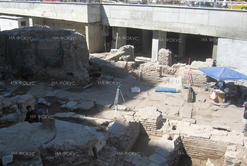Weser Kurier: Excavations stand abandoned in Sofia downtown