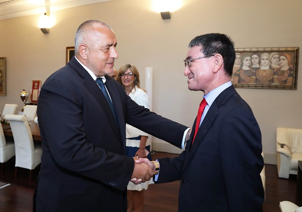 PM Boyko Borissov: Japan is Bulgaria's priority partner and traditional friend