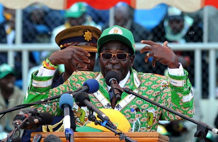 AFP : ZANU-PF youth league call for Mugabe, Grace to go