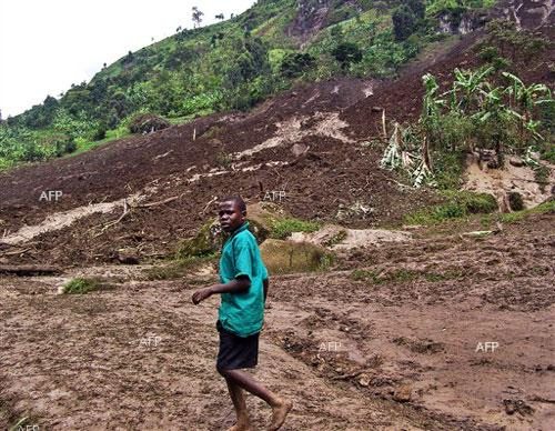 Landslide kills 31 in eastern Uganda