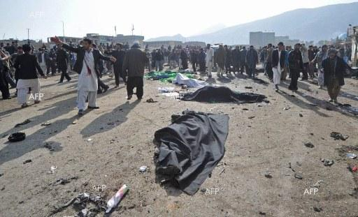 AFP: Death toll in Kabul Shiite mosque attack jumps to 56