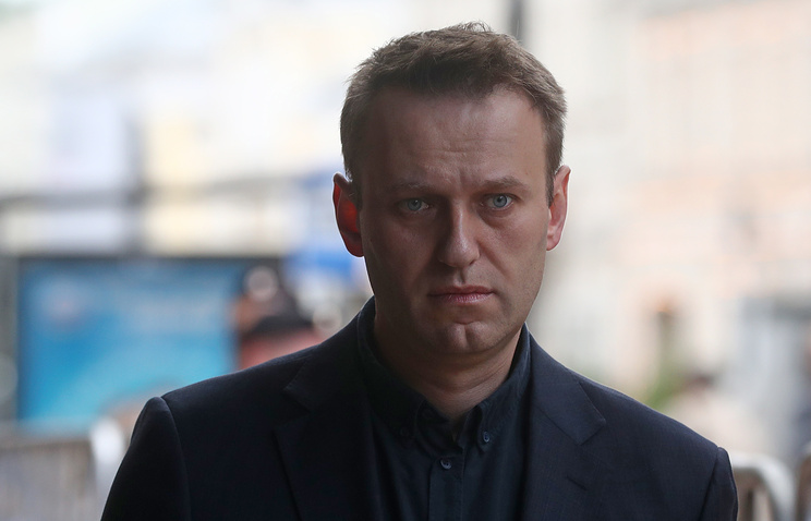 Russian opposition leader, Navalny, detained ahead of rally