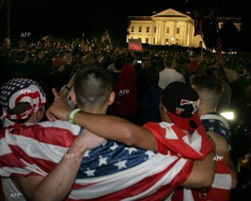 AFP: Trump's emergency declaration sparks protests outside White House