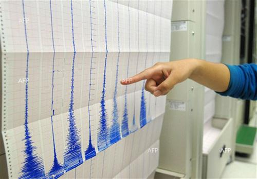 Earthquake measuring 2,9 on Richter scale registered some 400km south from Sofia