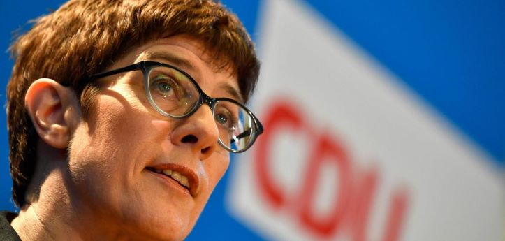 AFP: Merkel's successor sparks freedom of speech uproar