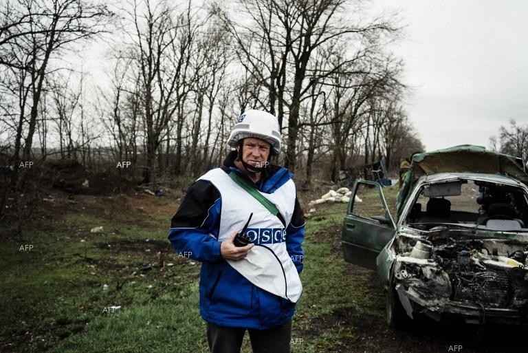 OSCE continues its mission in Eastern Ukraine.