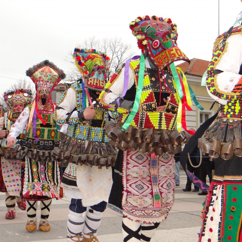 2nd part of Kukerlandia Festival in the Bulgarian town of Yambol continues.