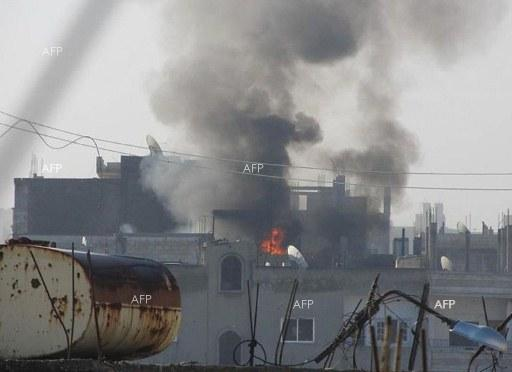 AFP: 'Huge explosion' in Syria capital causes fatalities: monitor