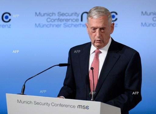 AFP: Mattis in Macedonia to counter 'Russian influence' against name change