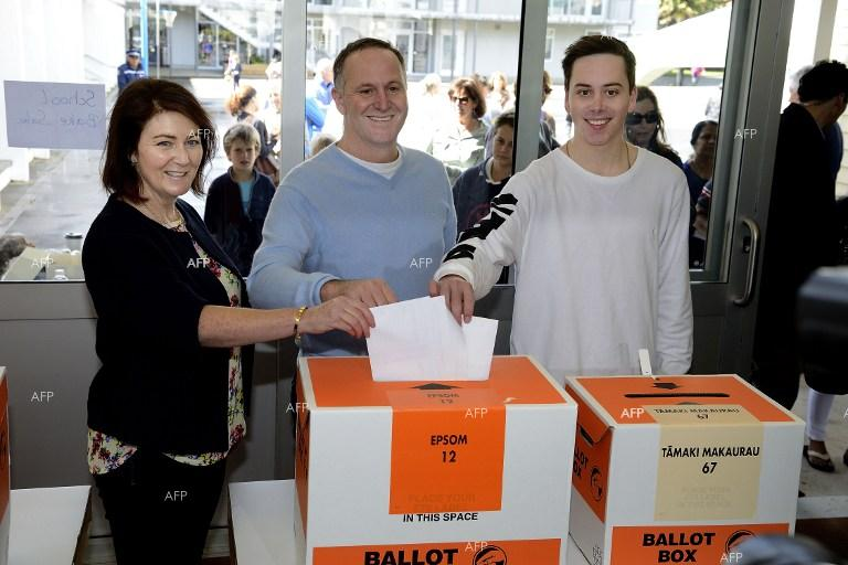 New Zealanders voted Saturday in a general election