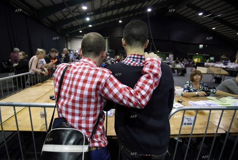 Ireland holds referendum on same-sex marriage.
