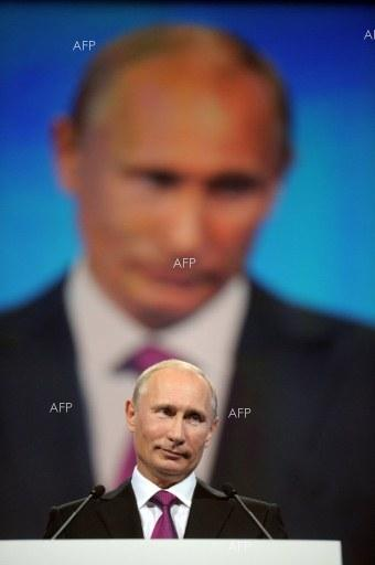 AFP: Putin wins fourth term with 73.9 percent of vote: exit poll