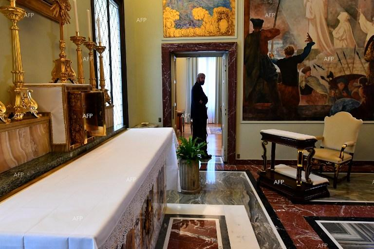 The Vatican opens Castel Gandolfo personal chambers for visitors. October 21, 2016.