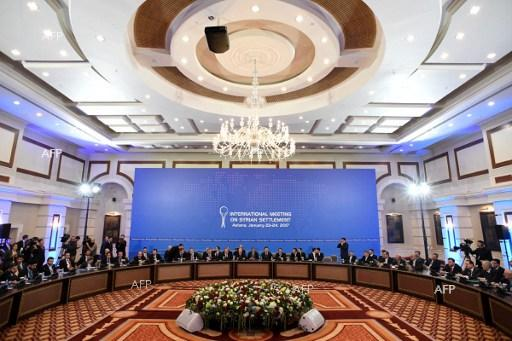 Syria conference kicks off in Astana. January 23, 2017.
