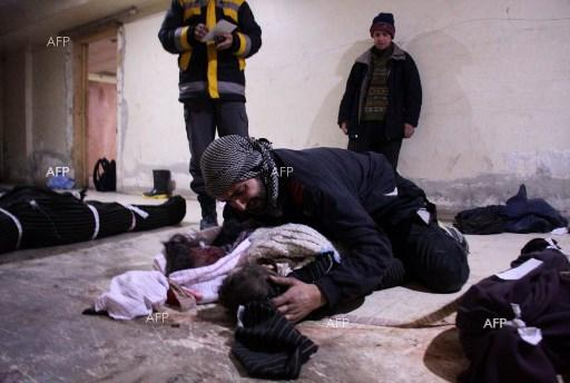 Over 40 people die in new attacks in eastern Ghouta. February 19, 2018;