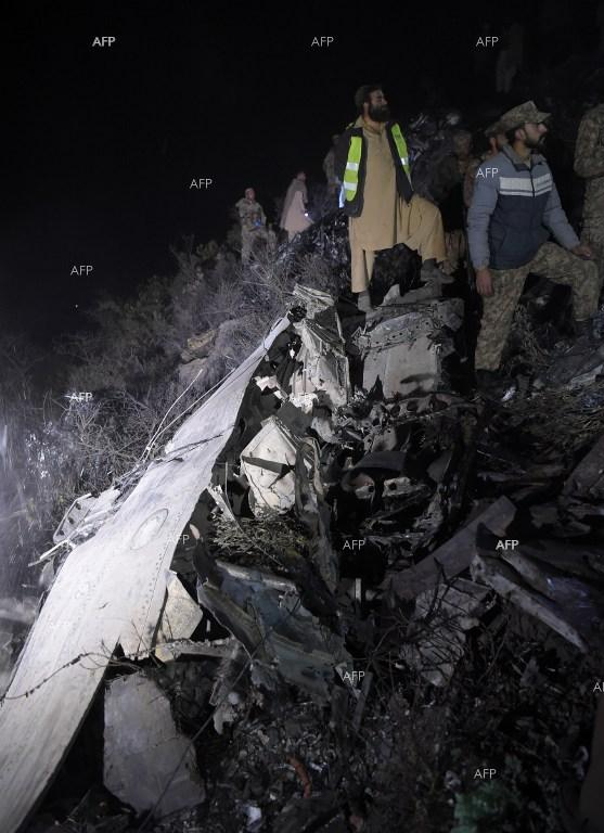 The victims of the plain crash in Pakistan are nearly 100. December 8, 2016