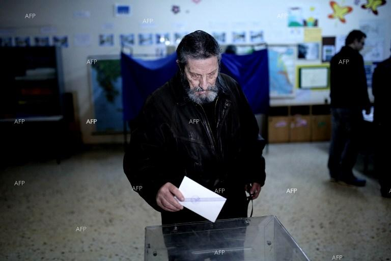 Voting begins in crucial Greek general election.