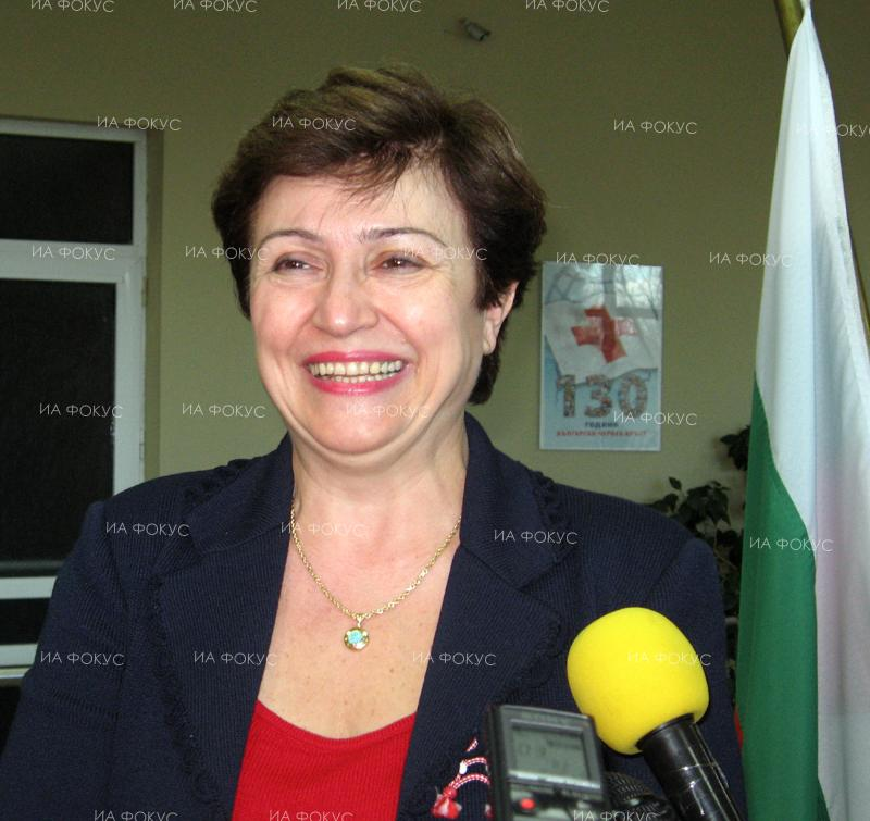 EU Commissioner Kristalina Georgieva: Bulgaria must carry out significant reforms to unlock economy growth potential