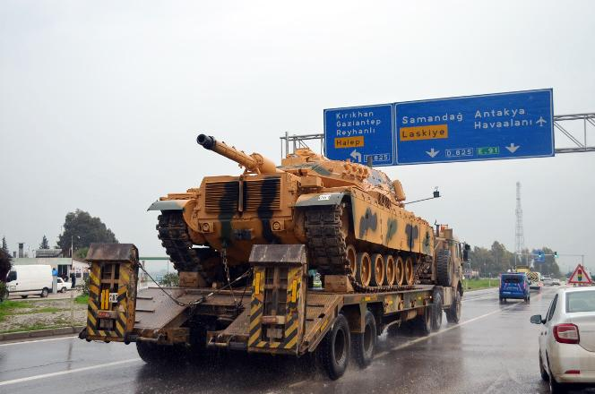 AFP: Syria Kurds say Turkish hopes of taking Afrin by evening a 'daydream'
