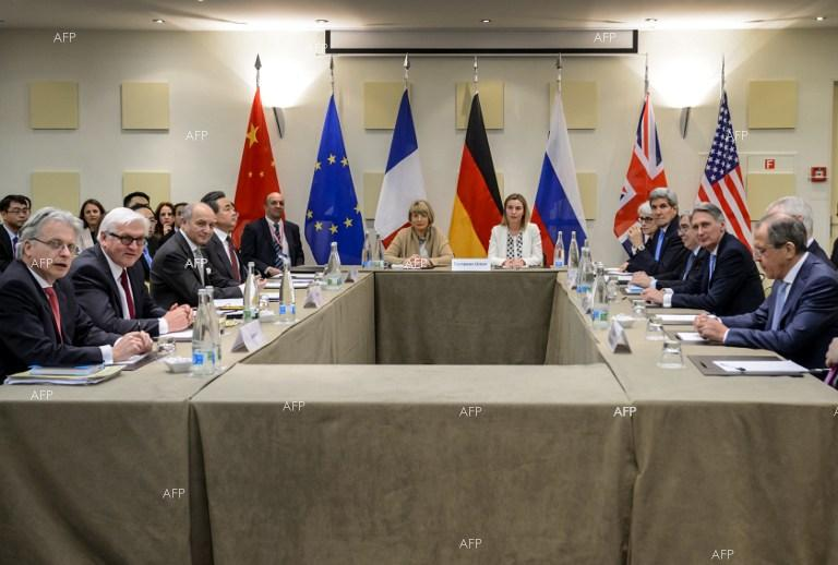 Meeting of the P5+1 group foreign ministers dedicated to the Iranian nuclear programme.