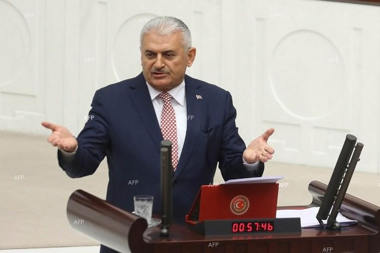 Binali Yildirim: Turkey respects Greece's decision not to extradite soldiers over coup