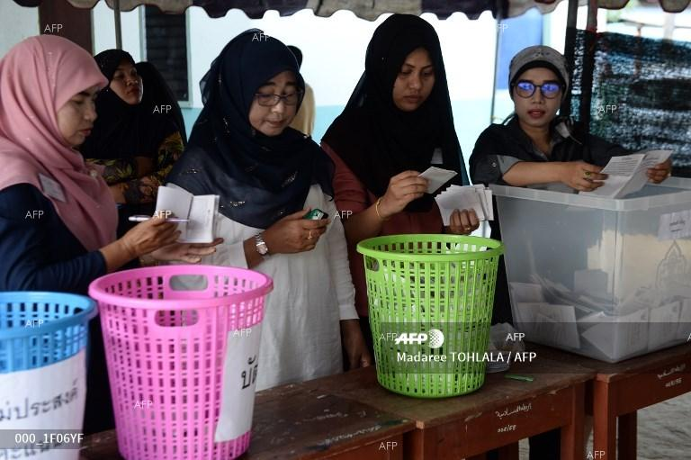 Parliamentary elections in Thailand. March 24, 2019;