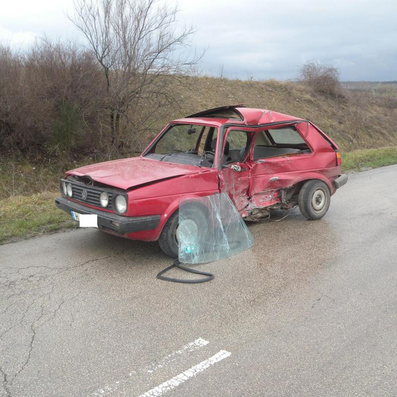 Road accident in the Bulgarian town of Shumen.